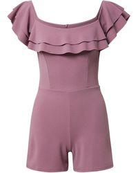 Wal-G Jumpsuit 'poppy' - Lila