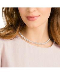 Swarovski Collier »Angelic, weiss, rosé Vergoldung, 5367845« mit ® Kristallen - Mehrfarbig