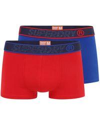 Superdry Boxershorts - Rot