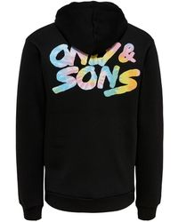 Only & Sons Hoodie - Schwarz