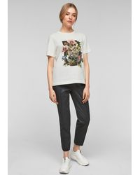 S.oliver - T-Shirt - Lyst