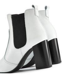 Lascana LASCANA Ankleboots - Weiß
