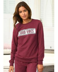 S.oliver Bodywear Sweatshirt - Rot