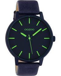 OOZOO Uhr 'c10382' - Blau