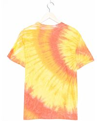 Hanes Tie Dye Shirt - Orange