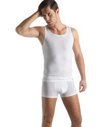 Hanro Unterhemd ' Cotton Sensation ' - Weiß