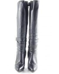 Versace Absatz Stiefel - Grau
