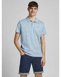Jack & Jones - All-over-Print Poloshirt - Lyst