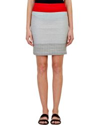 Boy by Band of Outsiders - Women's Suspender Skirt - Lyst