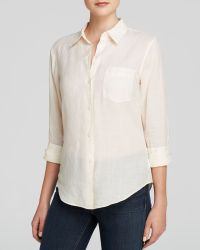 Theory Top - Perfect Sunny - Lyst