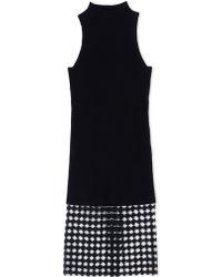 Edun 3/4 Length Dress black - Lyst