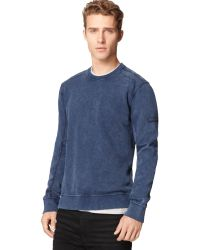 Calvin Klein Jeans Contrast Sweatshirt - Lyst