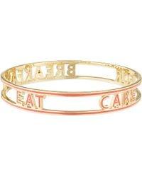 Kate Spade Eat Cake For Breakfast Bangle - For Women - Lyst