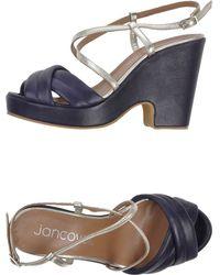 Jancovek Sandals - Purple