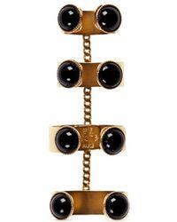 Ela Stone 'Ana' Stone Chain Link Quadruple Ring - Lyst