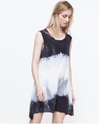 Willow Knows Short Tank Dress In Sea - Lyst