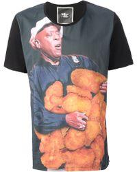 Dead Meat - Fried Chicken Print Tshirt - Lyst
