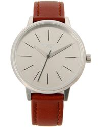 Nixon Brown Wrist Watch - Lyst