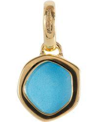 Monica Vinader - Mini Gold Vermeil Turquoise Atlantis Pendant - Lyst