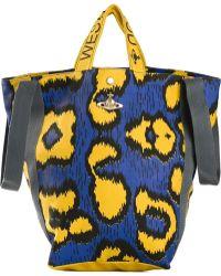 Vivienne Westwood Leopard-Print Holdall - Lyst