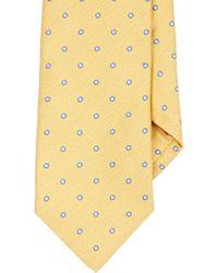 Isaia | Textured-circle Necktie | Lyst