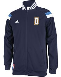 Adidas Mens Denver Nuggets On-court Jacket - Lyst