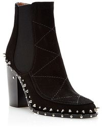 Laurence Dacade Flynn Studded Leather Boots - Lyst