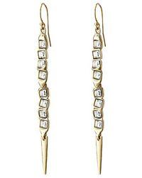 Alexis Bittar Elongated Wire Earrings - Lyst