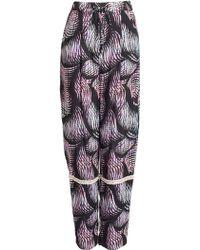Matthew Williamson Beach Palm Drawstring Trousers - Lyst