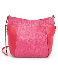 Jimmy Choo Small Anabel Leather Cross-Body Bag - Lyst