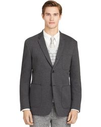 Brooks Brothers Grey Double Faced Sport Coat - Lyst