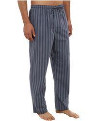 Calvin Klein Teal Pajama Pant - Lyst