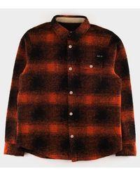 fbdd3d08b Nigel Cabourn Cpo Shirt Orange