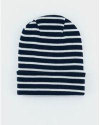 S.N.S Herning - Dual Hat Still Blue Raw - Lyst