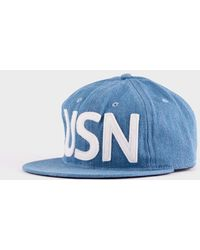 Ebbets Field Flannels - Usn Cap Blue Chambray - Lyst