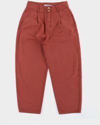 SIDELINE Dover Trouser Brick - Red