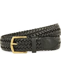 Pink Pony - Braided Leather Belt - Lyst