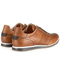Magnanni Pueblo Leather Sneaker - Lyst