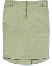 Kule Jules Pleat Front Skirt - Lyst