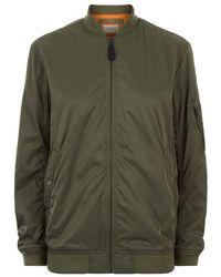 Denim & Supply Ralph Lauren - Jersey Embroidered Bomber Jacket - Lyst