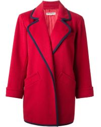 Yves Saint Laurent Vintage Open Front Jacket - Lyst