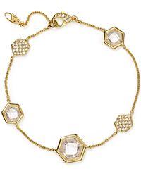 Nadri - Honeycomb Bracelet - Lyst
