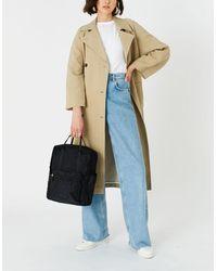 Accessorize Women's Black Stylish Frida Canvas Backpack, Size: 27x36cm