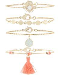 Accessorize - Beach Comber Friendship Bracelet Pack - Lyst