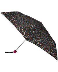 Accessorize Raindrops Umbrella - White