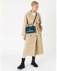 Accessorize Jessica Croc Handheld Bag - Multicolour