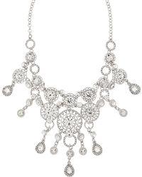 Accessorize - Carmella Sparkle Statement Necklace - Lyst