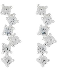 Accessorize - Sterling Silver Constellation Stud Earrings - Lyst