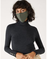 Accessorize Face Covering Multipack In Pure Cotton - Multicolour