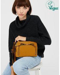 Accessorize Taylor Vegan Cross-body Bag - Yellow
